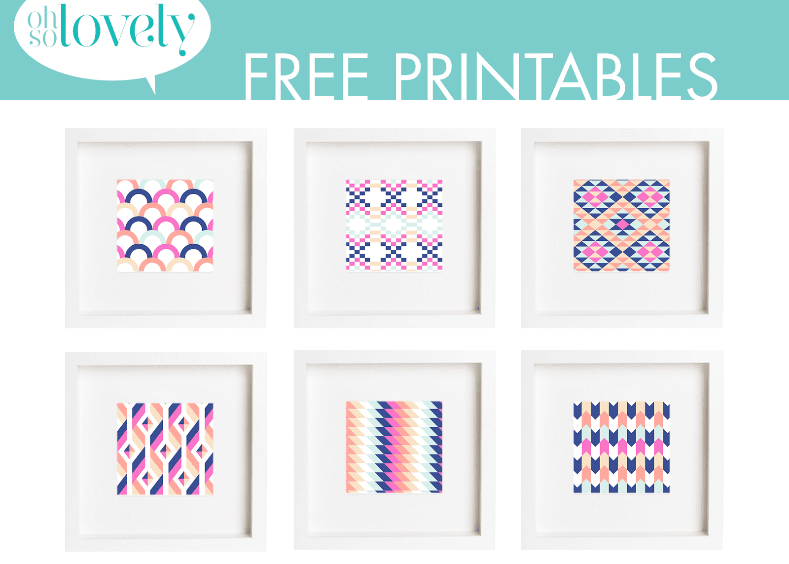 11 Places To Find Free, Printable Wall Art Online - Free Printable Artwork