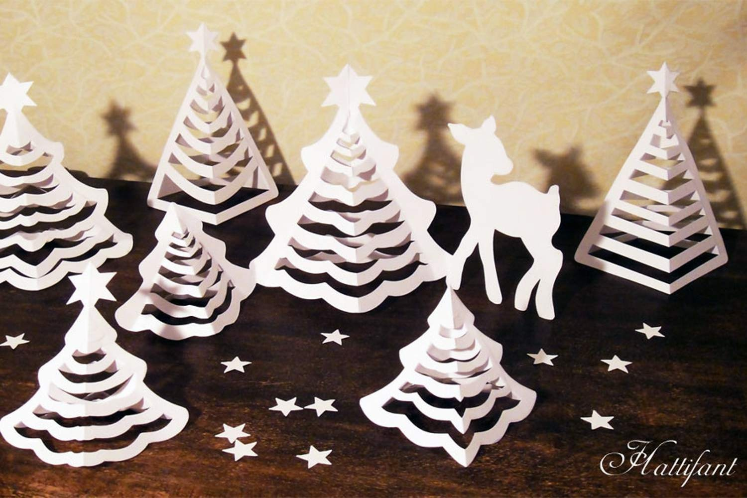 11 Pretty Paper Christmas Ornaments And Crafts - Free Printable Christmas Ornament Crafts