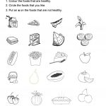 115 Free Esl Healthy Worksheets   Free Printable Health Worksheets For Middle School
