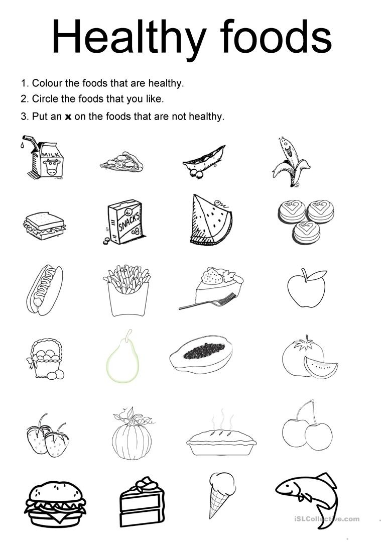 115 Free Esl Healthy Worksheets - Free Printable Health Worksheets For Middle School