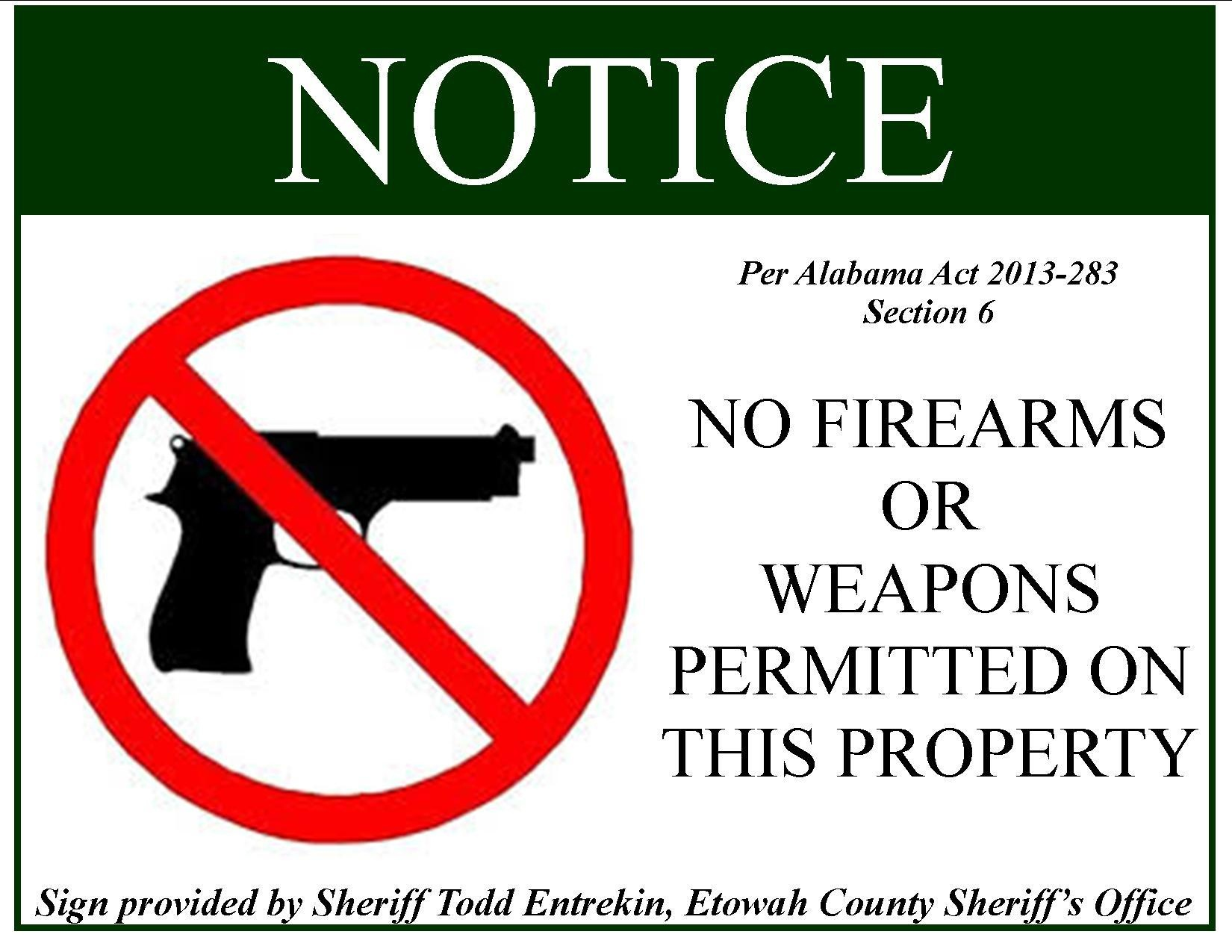 12 Best Photos Of No Firearms Signage - Weapons No Guns Allowed - Free Printable No Guns Allowed Sign