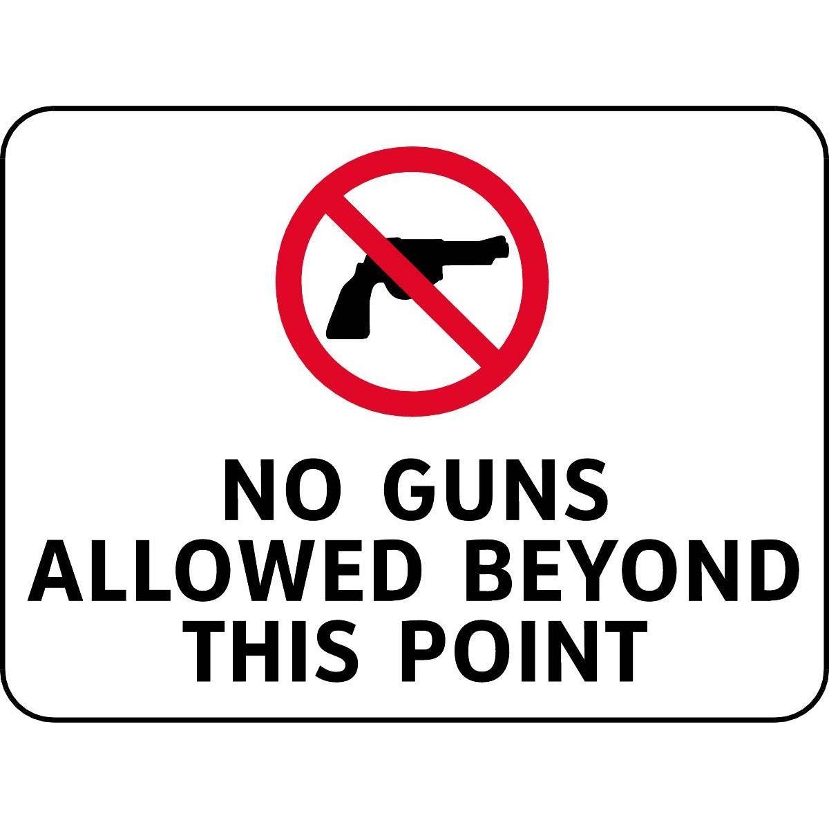 12 Best Photos Of No Gun Allowed Signage - Printable No Guns Allowed - Free Printable No Guns Allowed Sign