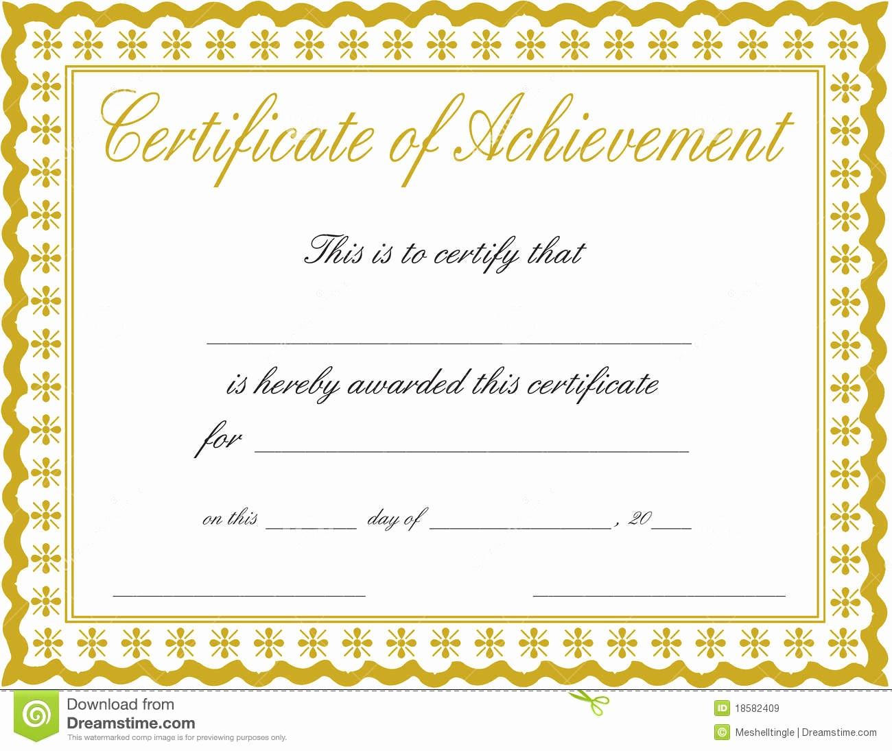 12 Customizable Certificate Templates   Business Letter - Free Customizable Printable Certificates Of Achievement