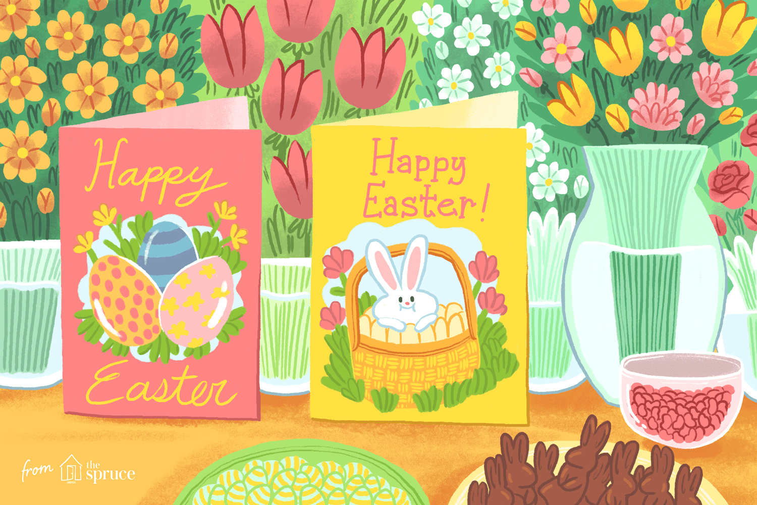 12 Free, Printable Easter Cards For Everyone You Know - Free Printable Easter Cards For Grandchildren