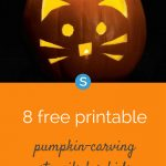 12 Free Printable Pumpkin Carving Stencils For Kids   Parenting And   Free Printable Pumpkin Carving Stencils