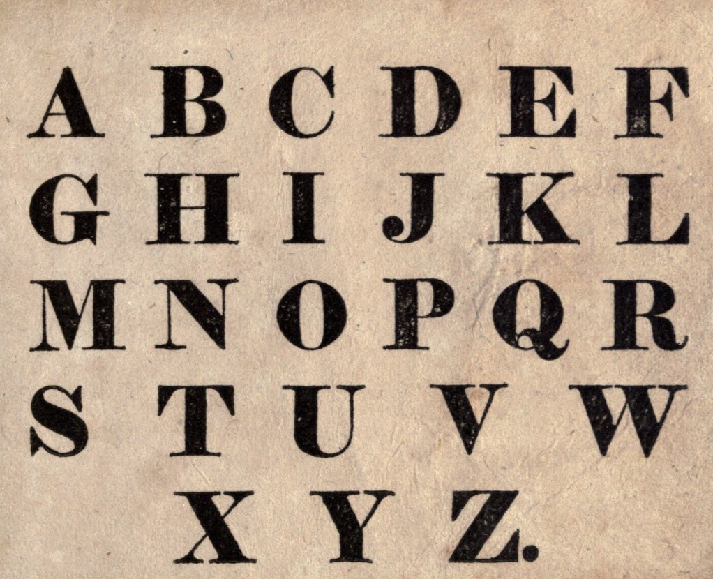 14 Fonts And Free Printable Letters Images - Free Printable Letter - Free Printable Fonts