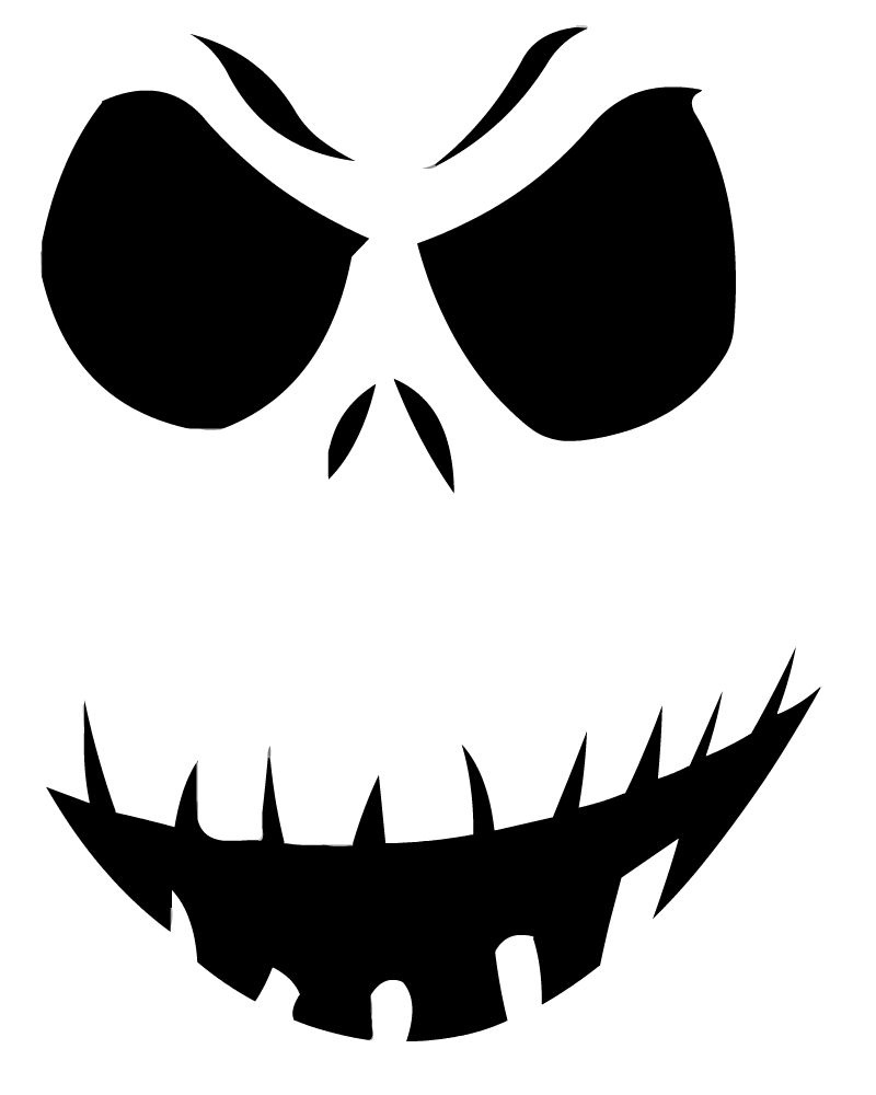 14 Unique Jack Skellington Pumpkin Stencil Patterns | Guide Patterns - Pumpkin Patterns Free Printable