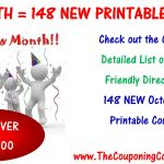 148 New Printable Coupons To Start October ~ Print Them Now!   Free Printable Chinet Coupons