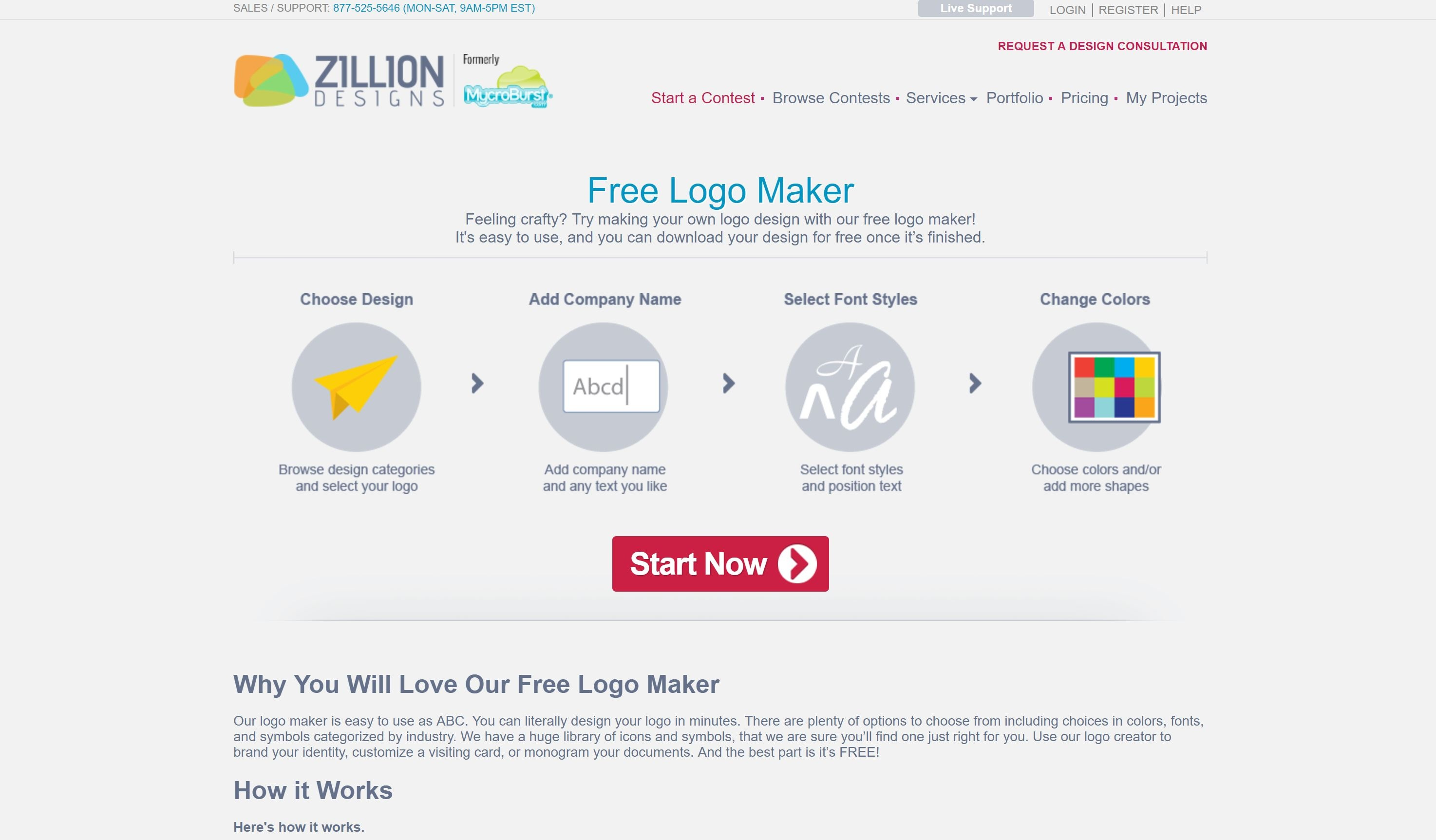 15 Best Free Online Logo Makers & Generators - Websitesetup - Free Printable Logo Maker