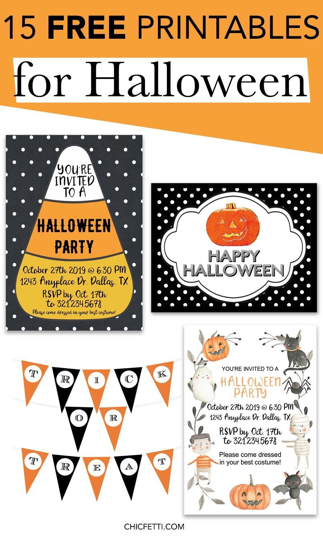 15 Free Printables For Halloween   Printable Wall Art For Home And - Free Printable Halloween Banner