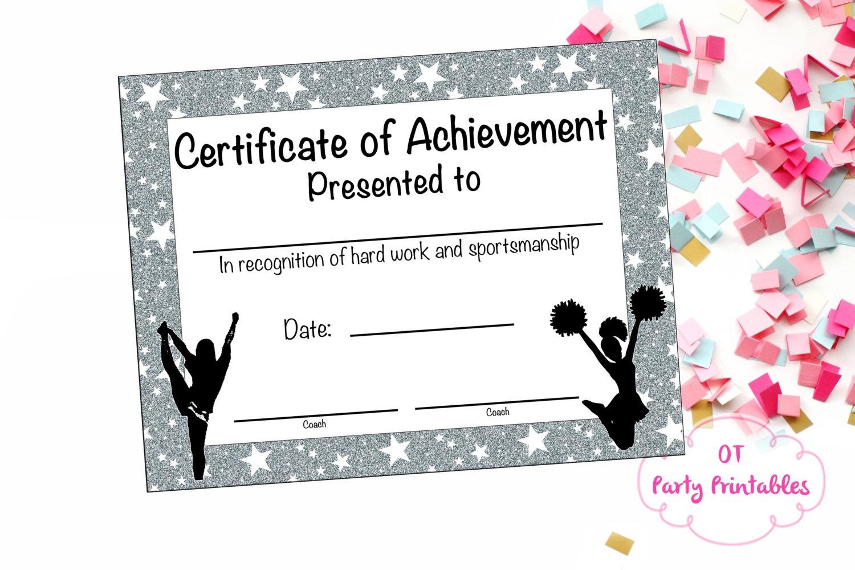 17 Images Of Megaphone Award Certificate Template   Unemeuf - Free Printable Cheerleading Certificates