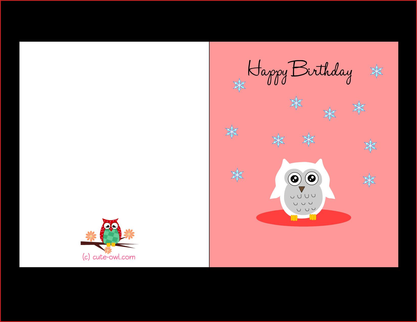 17 Professional Print Free Birthday Cards Online : Lenq - Free Printable Happy Birthday Cards Online