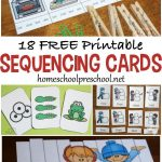 18 Free Printable Sequencing Cards For Preschoolers | Homeschool   Free Printable Sequencing Cards