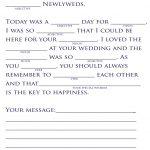 18 Fun Wedding Mad Libs | Kittybabylove   Free Printable Wedding Mad Libs