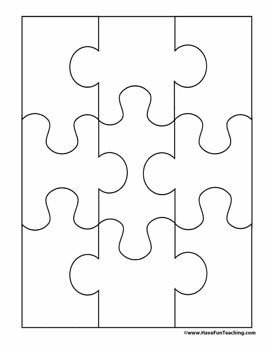 19 Printable Puzzle Piece Templates ᐅ Template Lab - Free Printable Puzzles
