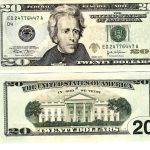 20 Dollar Bill Front And Back Actual Size | 22 | 100 Dollar Bill   Free Printable Dollar Bill Template