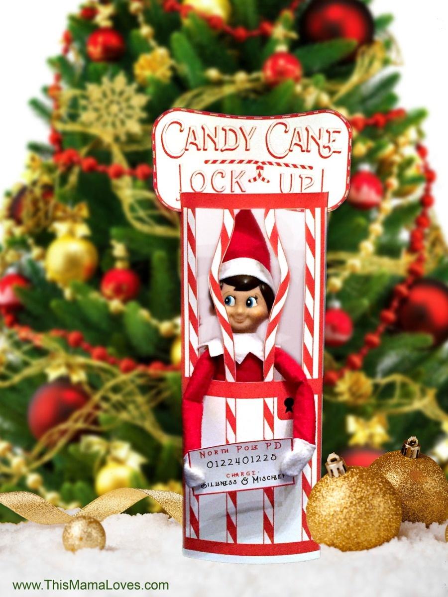 20+ Free Elf On The Shelf Printables - Poofy Cheeks - Elf On The Shelf Kissing Booth Free Printable