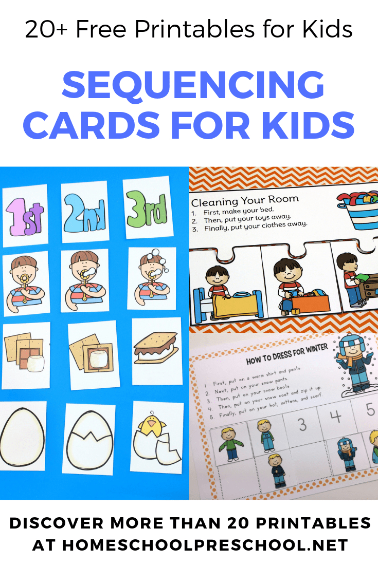 20 Free Printable Sequencing Cards For Preschoolers - Free Printable Sequencing Cards For Preschool