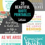 20 Gorgeous Printable Quotes | Free Inspirational Quote Prints   Free Printable Quotes And Sayings