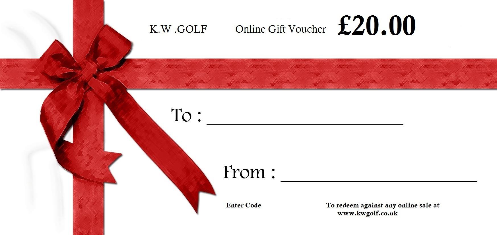 20 Online Gift Voucher - Free Printable Gift Vouchers Uk