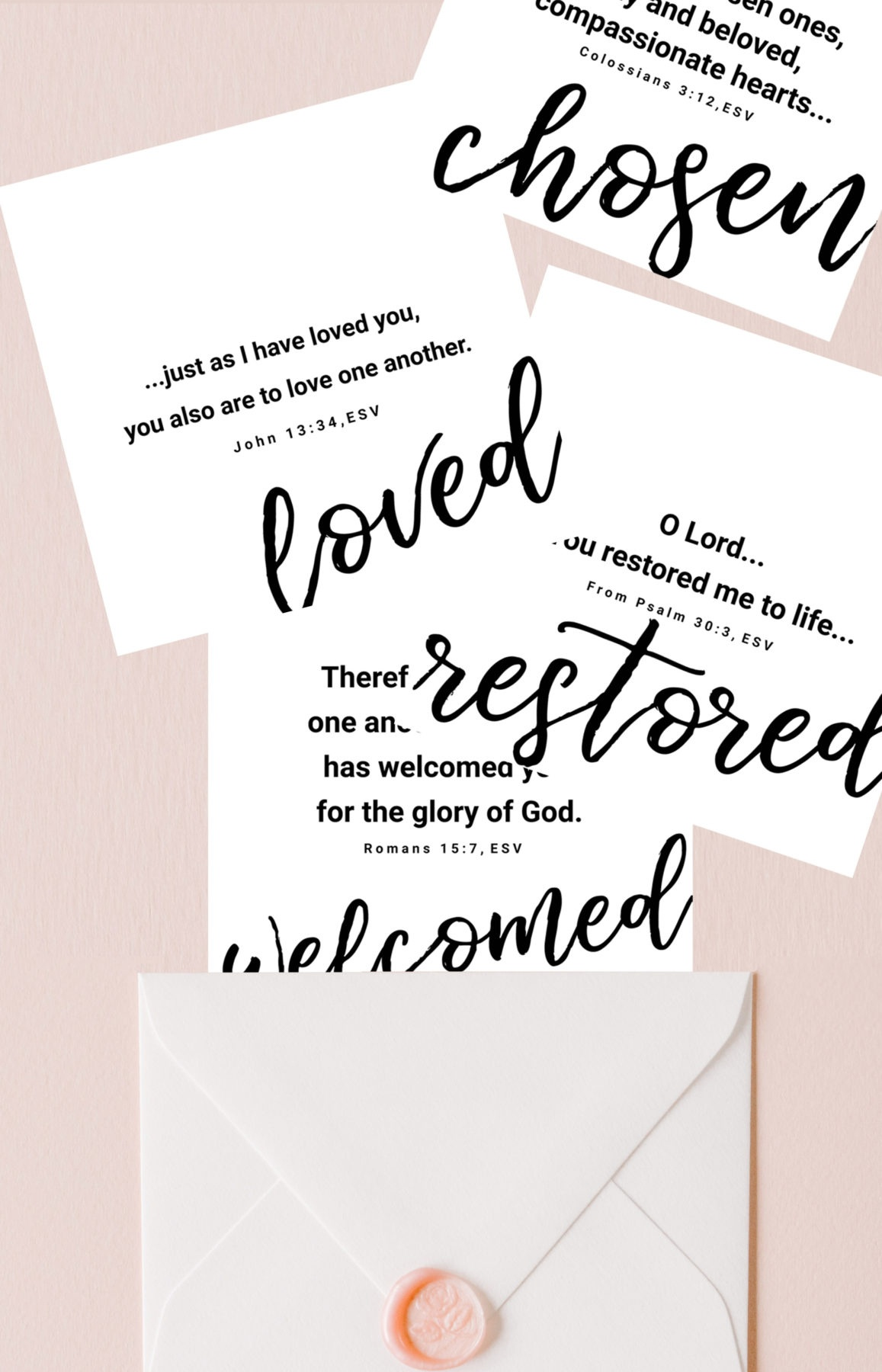 2019 You Are Loved | Set Of 8 Free Printable Bible Verse Cards - Free Printable Bible Verse Cards