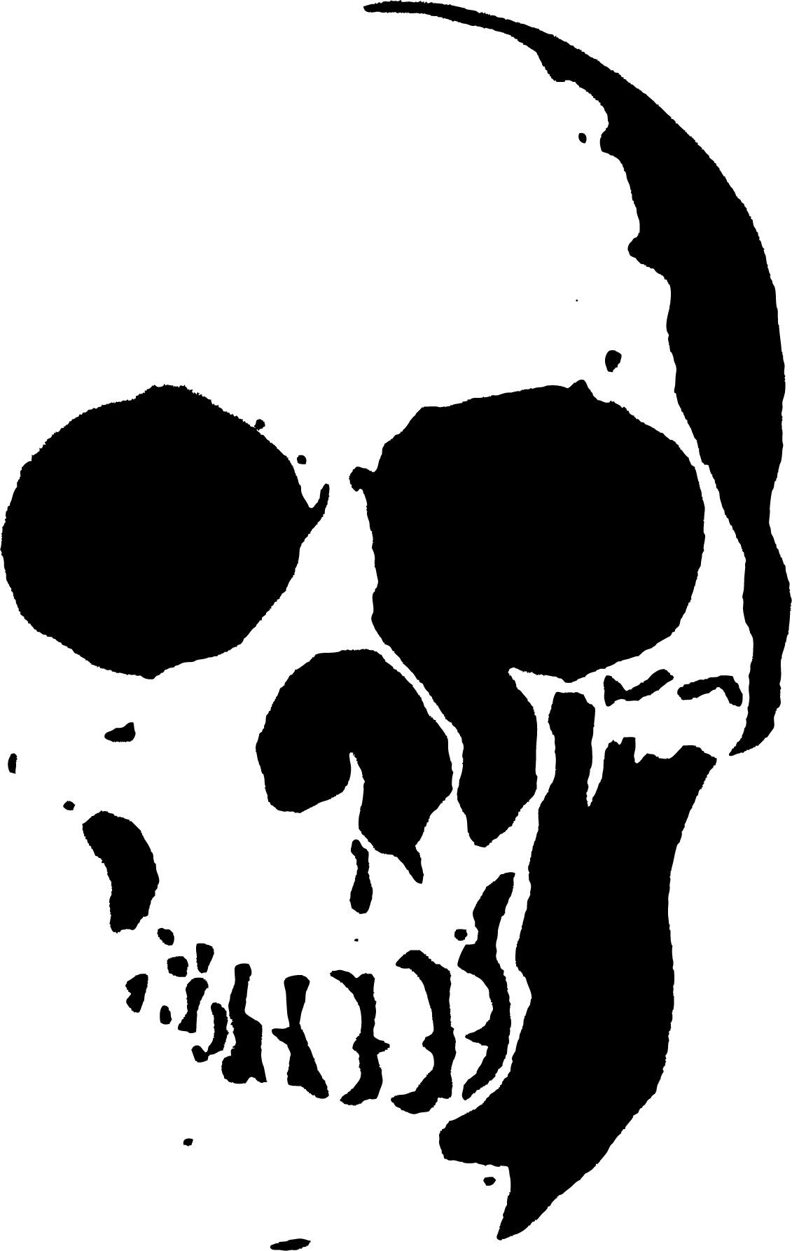 23 Free Skull Stencil Printable Templates | Guide Patterns - Free Printable Stencil Designs