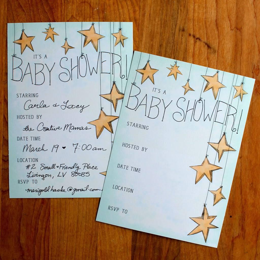 25 Adorable Free Printable Baby Shower Invitations - Create Your Own Baby Shower Invitations Free Printable