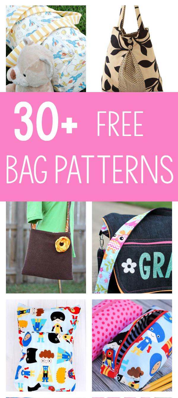 25 Bag Sewing Patterns - Free Printable Purse Patterns To Sew