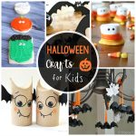 25 Cute & Easy Halloween Crafts For Kids   Crazy Little Projects   Halloween Crafts For Kids Free Printable