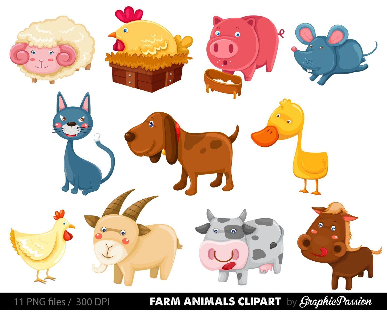 25+ Free Farm Animal Clipart | Clipartlook - Free Printable Farm Animal Clipart