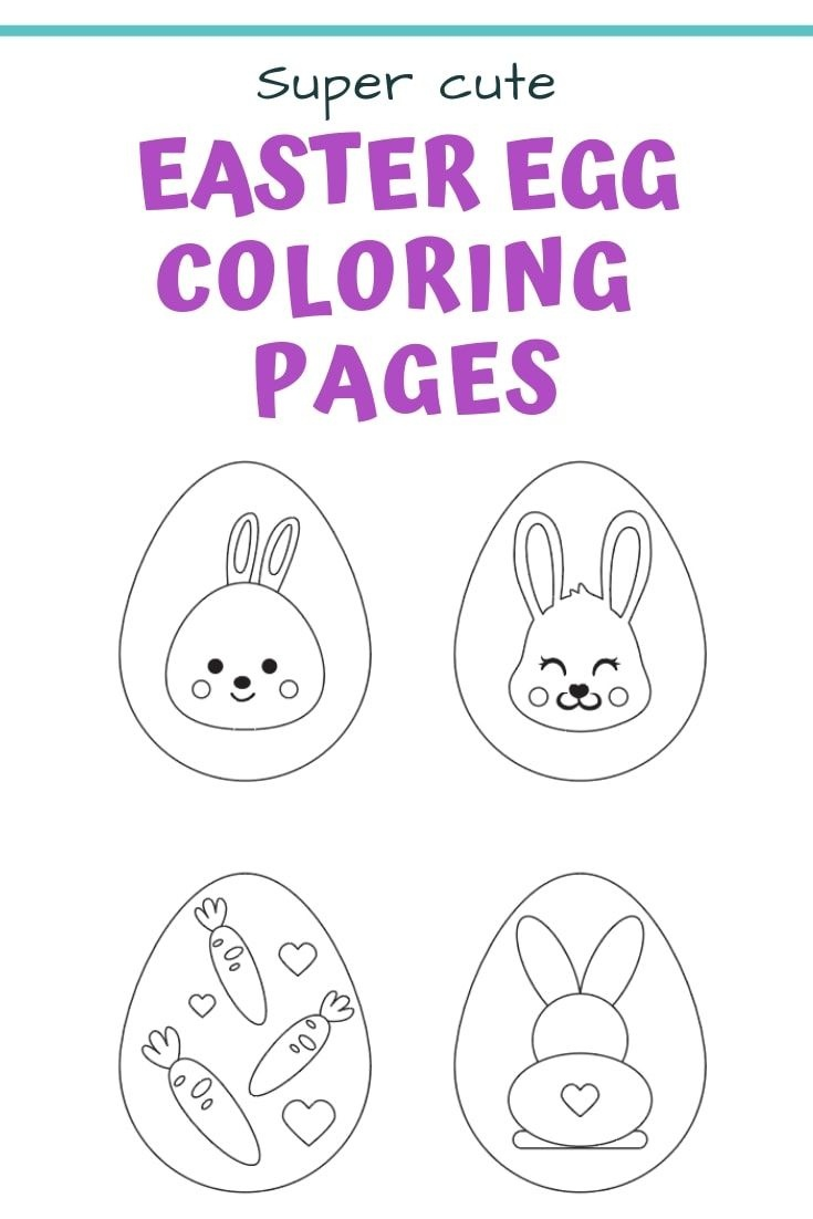 25+ Free Printable Easter Egg Templates & Easter Egg Coloring Pages - Free Printable Easter Pages