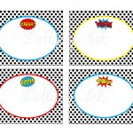 25 Images Of Super Hero Name Tag Template | Libchen   Superhero Name Tags Free Printable
