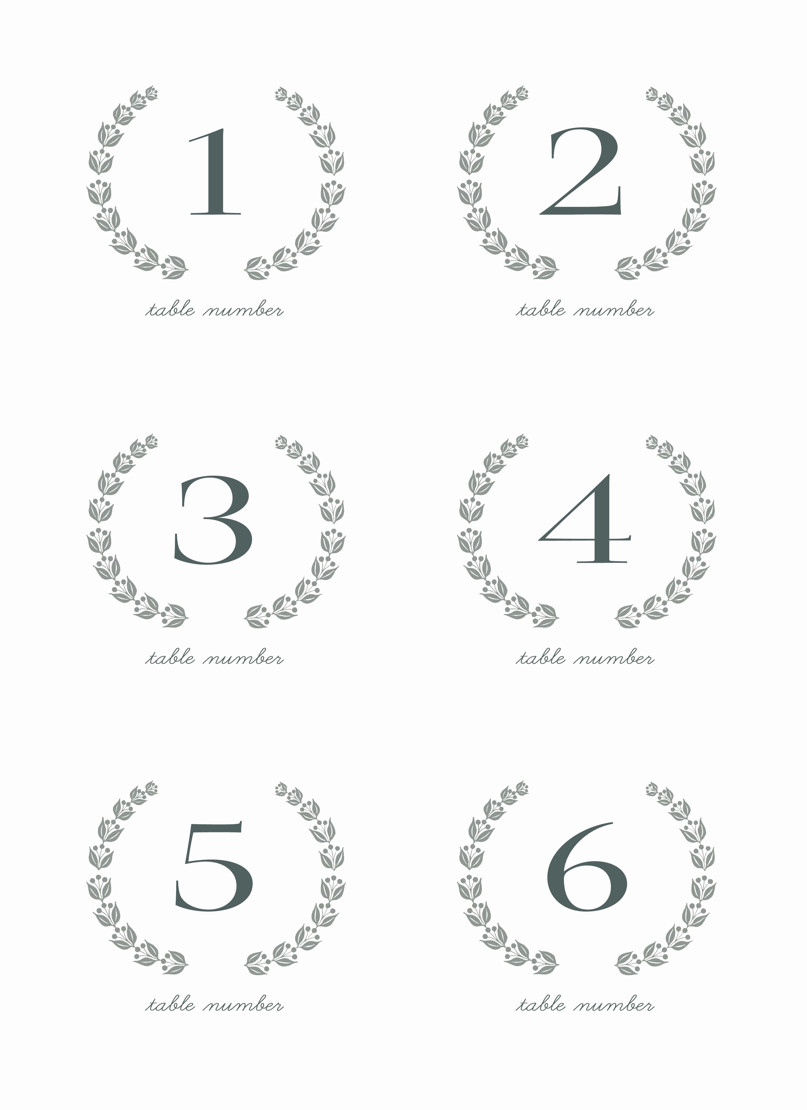 28 Elegant Printable Table Numbers   Kittybabylove - Free Printable Table Numbers 1 30