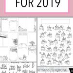29 Free Bullet Journal Printables To Snag For 2019 | The Petite   Free Printable Bullet Journal Pages