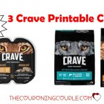 3 Crave Pet Food Printable Coupons ~ Dog And Cat Food!   Free Printable Dog Food Coupons