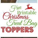 3 Free Printable Christmas Treat Bag Toppers   Easy Peasy Pleasy   Free Printable Christmas Bag Toppers