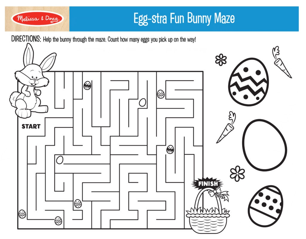 3 Free Printables For Easter Activities! | Melissa & Doug Blog - Free Printable Easter Puzzles For Adults