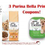 3 New Purina Bella Dog Food Printable Coupons ~ Print Now!   Free Printable Dog Food Coupons