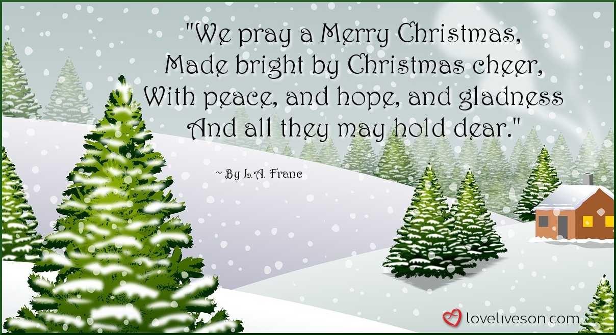 30+ Best Christmas Poems For Kids! | Love Lives On - Free Printable Christian Christmas Poems