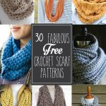 30+ Fabulous And Free Crochet Scarf Patterns     Free Printable Crochet Scarf Patterns