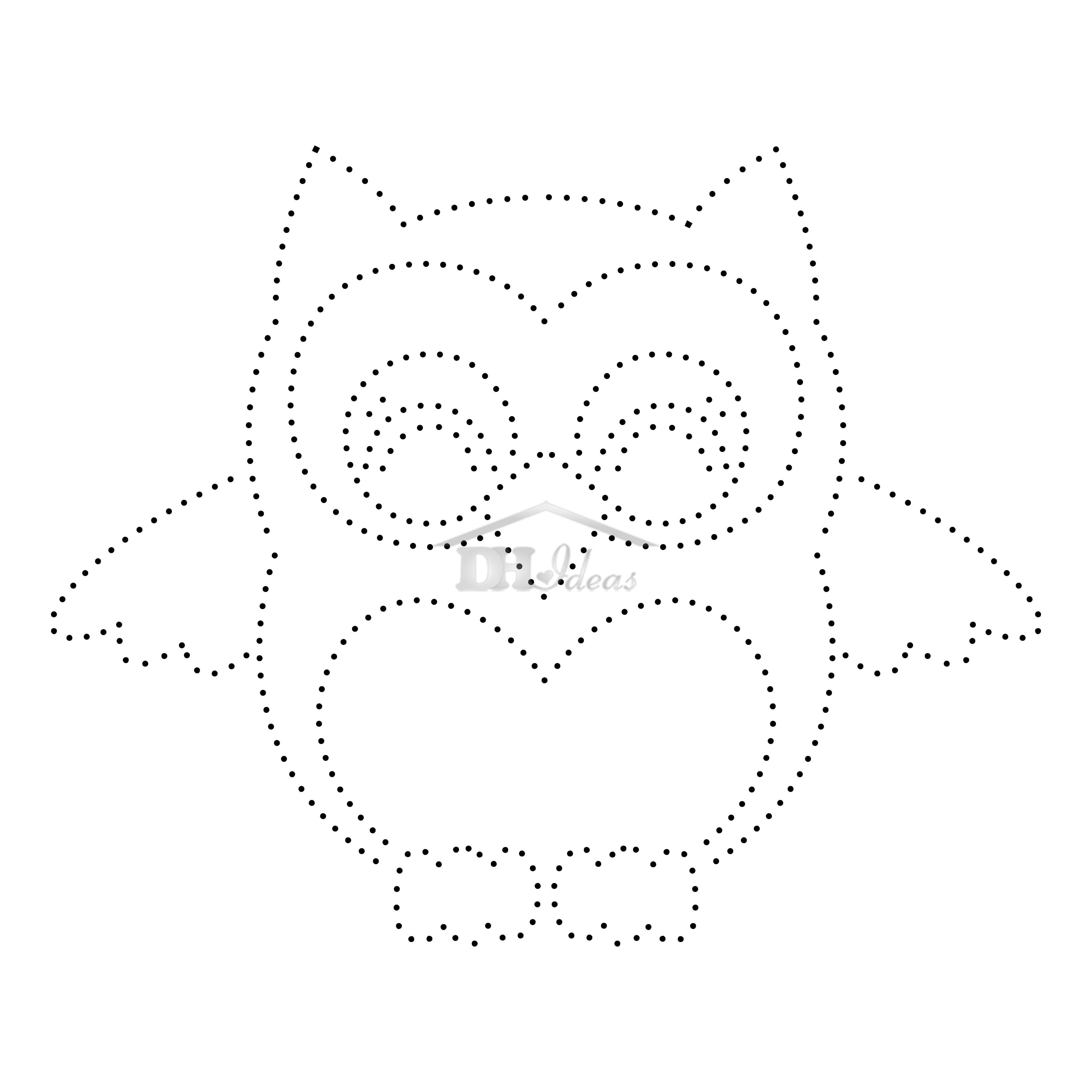 30 Free Printable String Art Patterns (Direct Download) - Free Printable String Art Patterns With Instructions