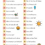 30 Frugal Summer Activities + A Free Printable   Free Printable Summer Games