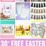 30+ Totally Free Easter Printables   Happiness Is Homemade   Free Printable Easter Tags