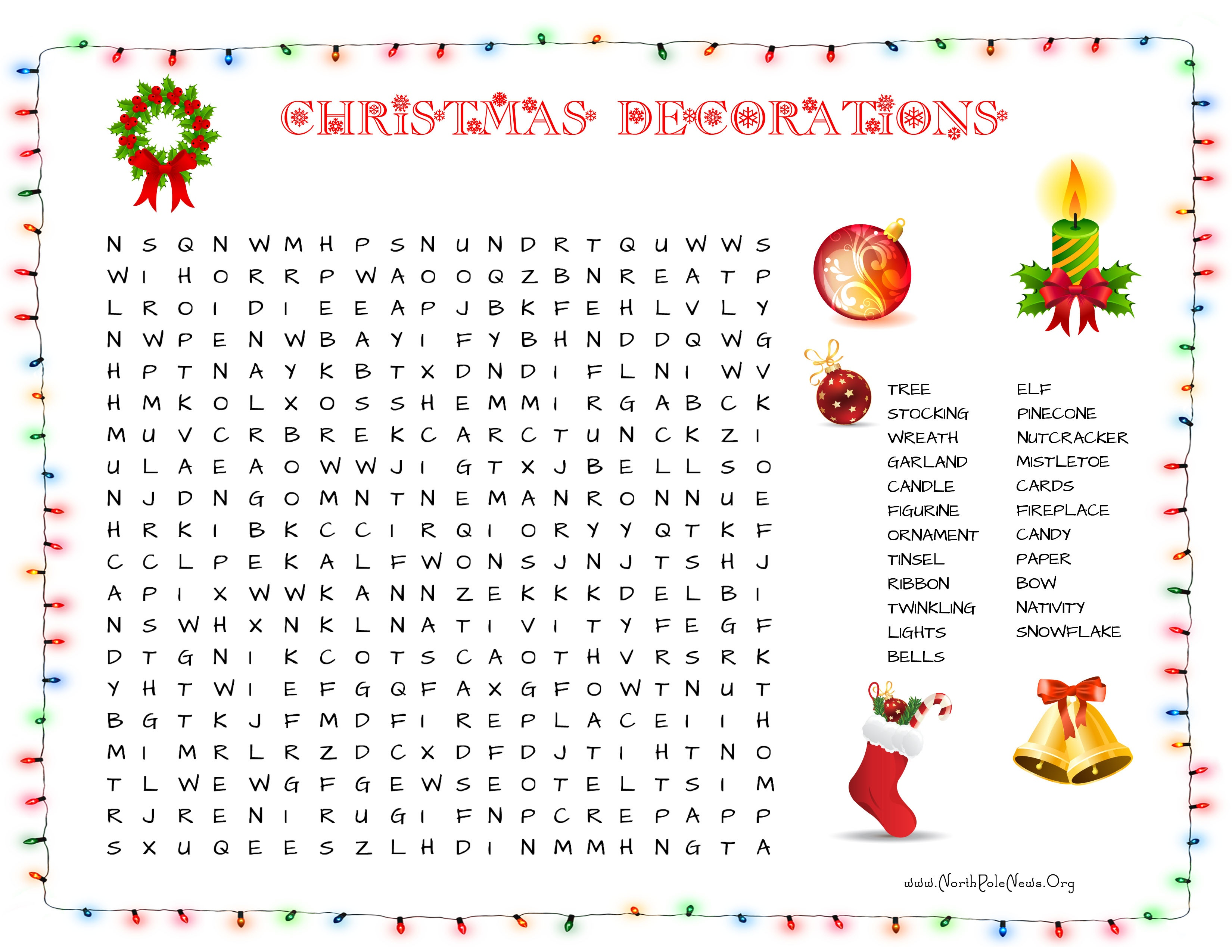 31 Free Christmas Word Search Puzzles For Kids - Free Printable Christmas Puzzles Word Searches