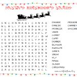 31 Free Christmas Word Search Puzzles For Kids   Free Printable Christmas Word Search Pages