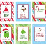39 Sets Of Free Printable Christmas Gift Tags   Free Printable Happy Holidays Gift Tags