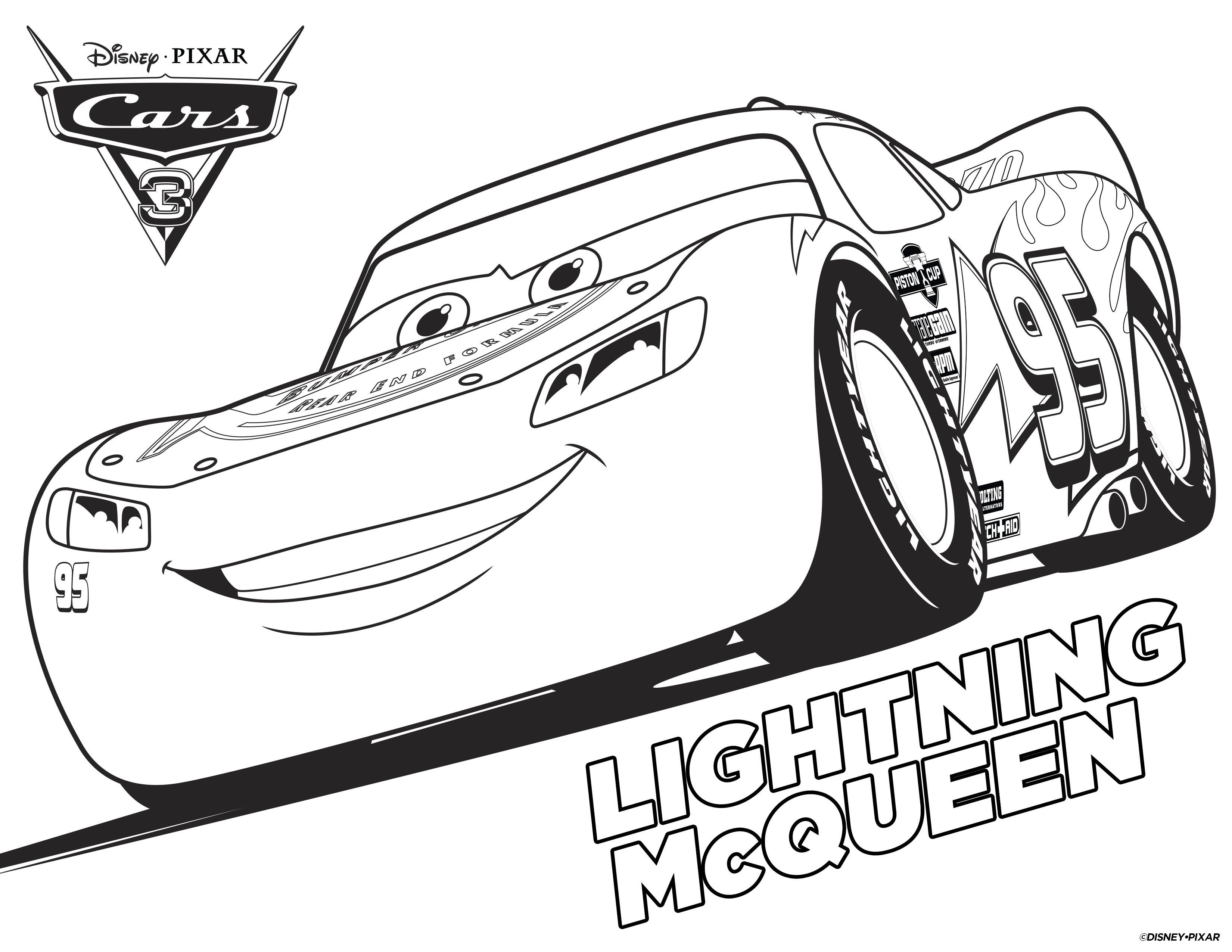 4 Disney Cars Free Printable Coloring Pages - Cars Colouring Pages Printable Free
