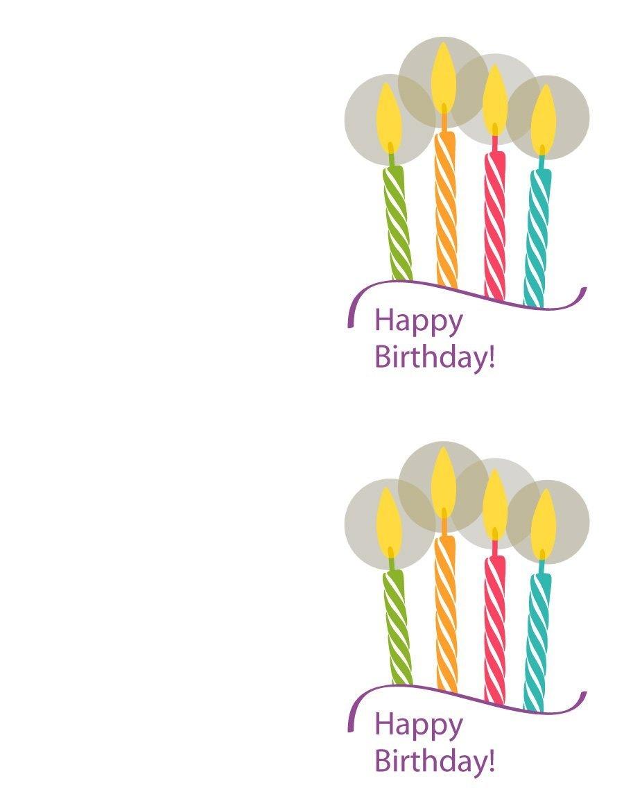 40+ Free Birthday Card Templates ᐅ Template Lab - Free Printable Card Templates