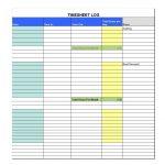 40 Free Timesheet / Time Card Templates ᐅ Template Lab   Monthly Timesheet Template Free Printable