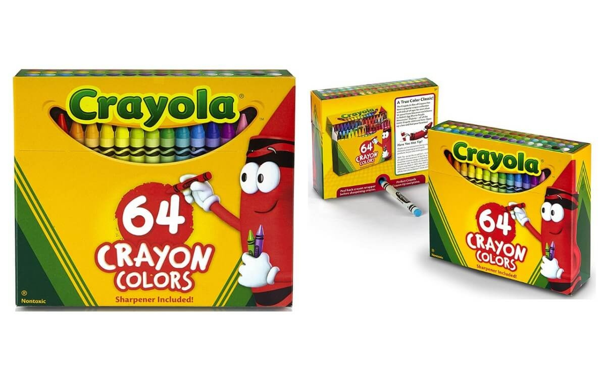 40% Off Crayola 64 Count Crayons On Amazonliving Rich With Coupons® - Free Printable Crayola Coupons